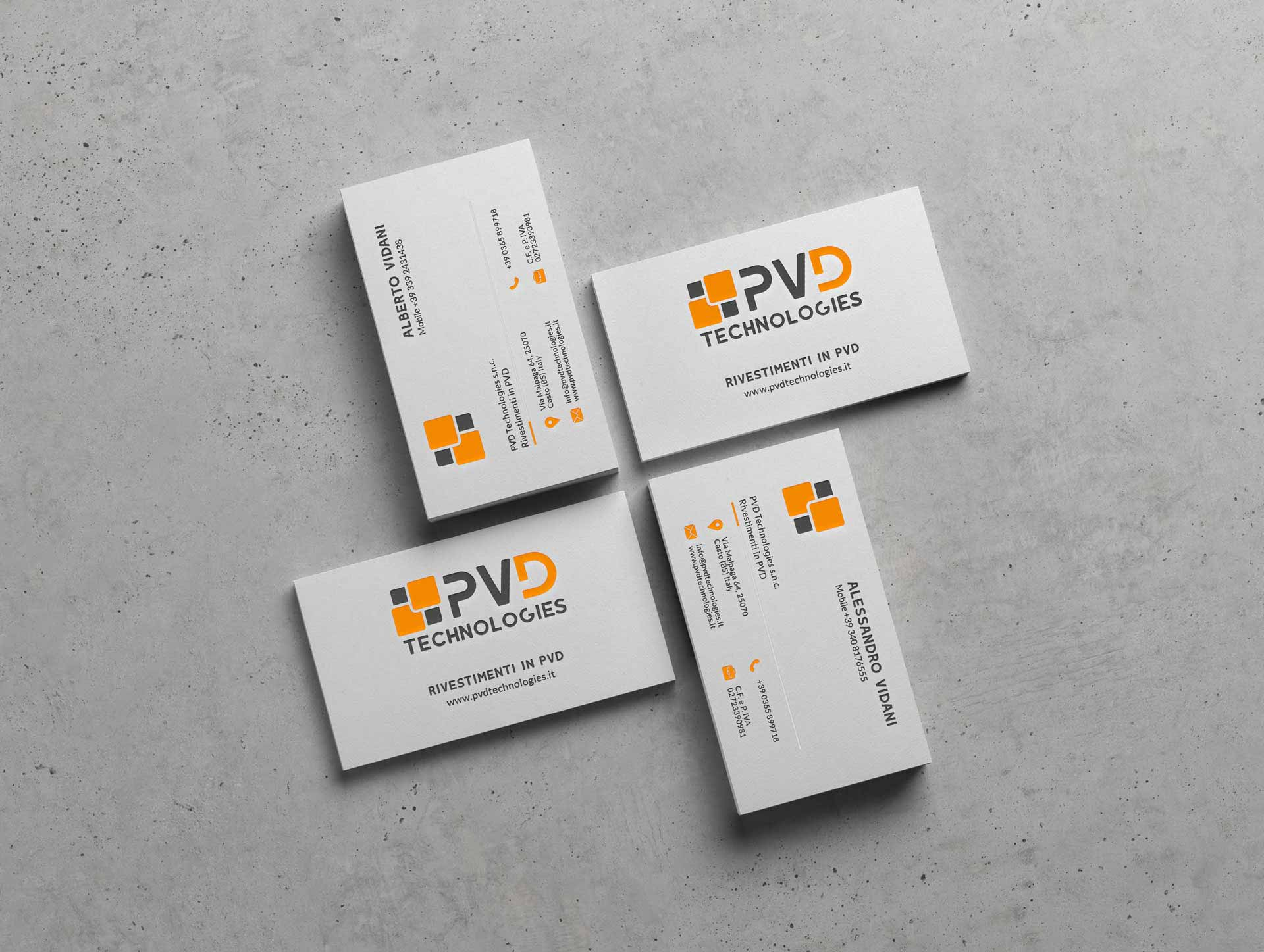 PVD Business Card