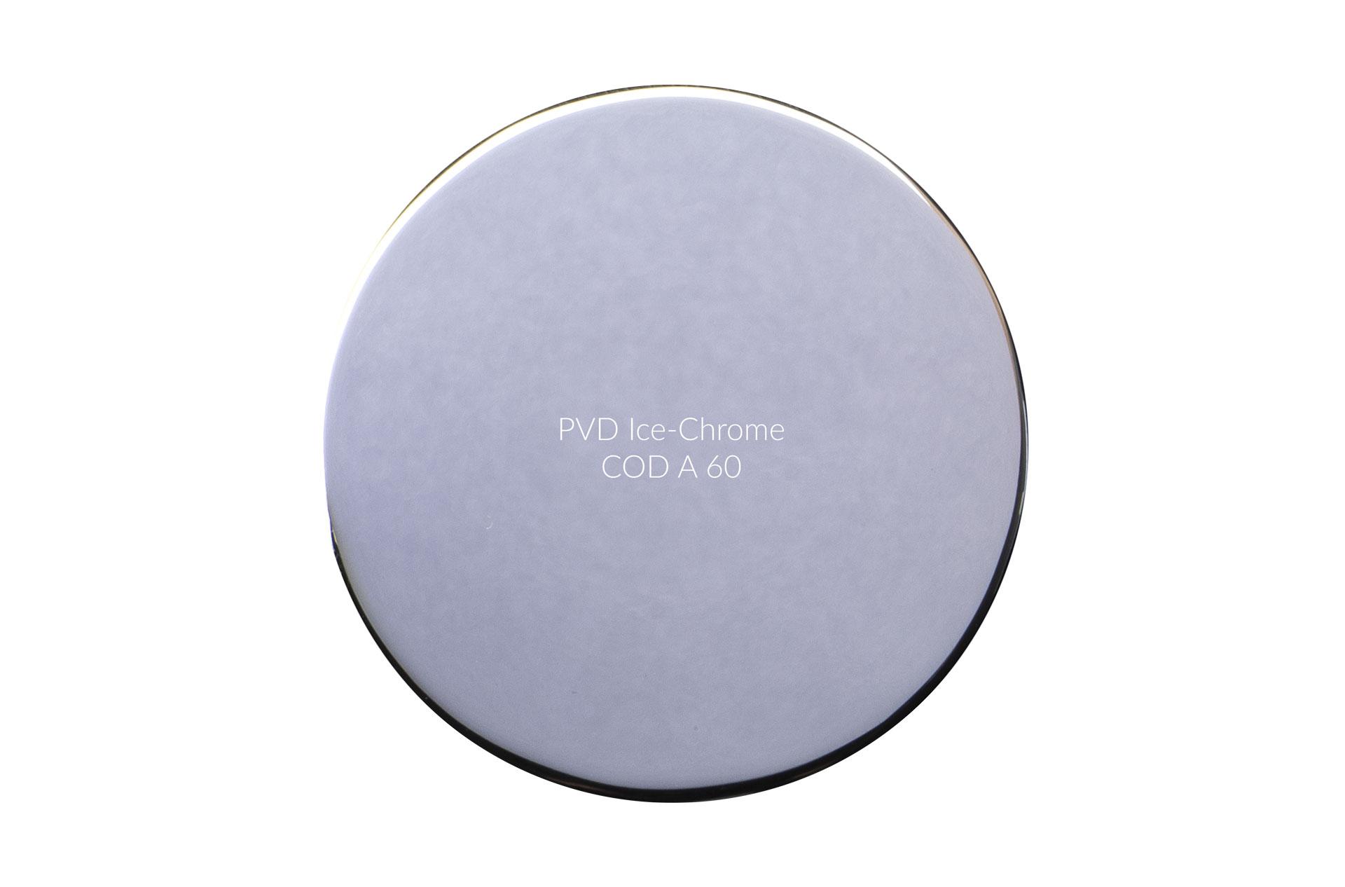 Dischetto PVD Ice-Chrome cod A 60 lucido