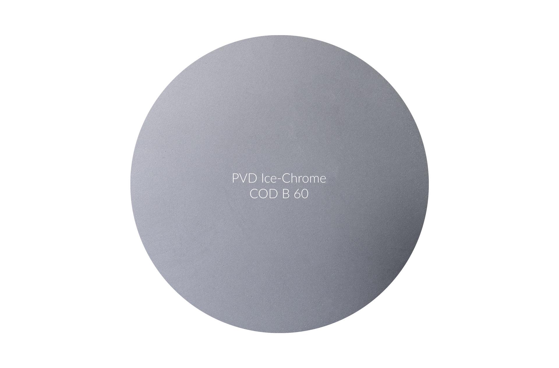 Dischetto PVD Ice-Chrome cod B 60 opaco