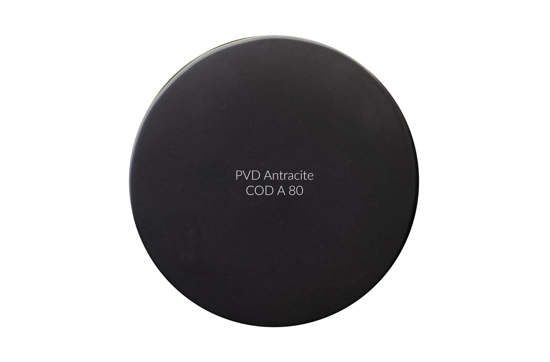 Dischetto PVD antracite cod A 80 lucido
