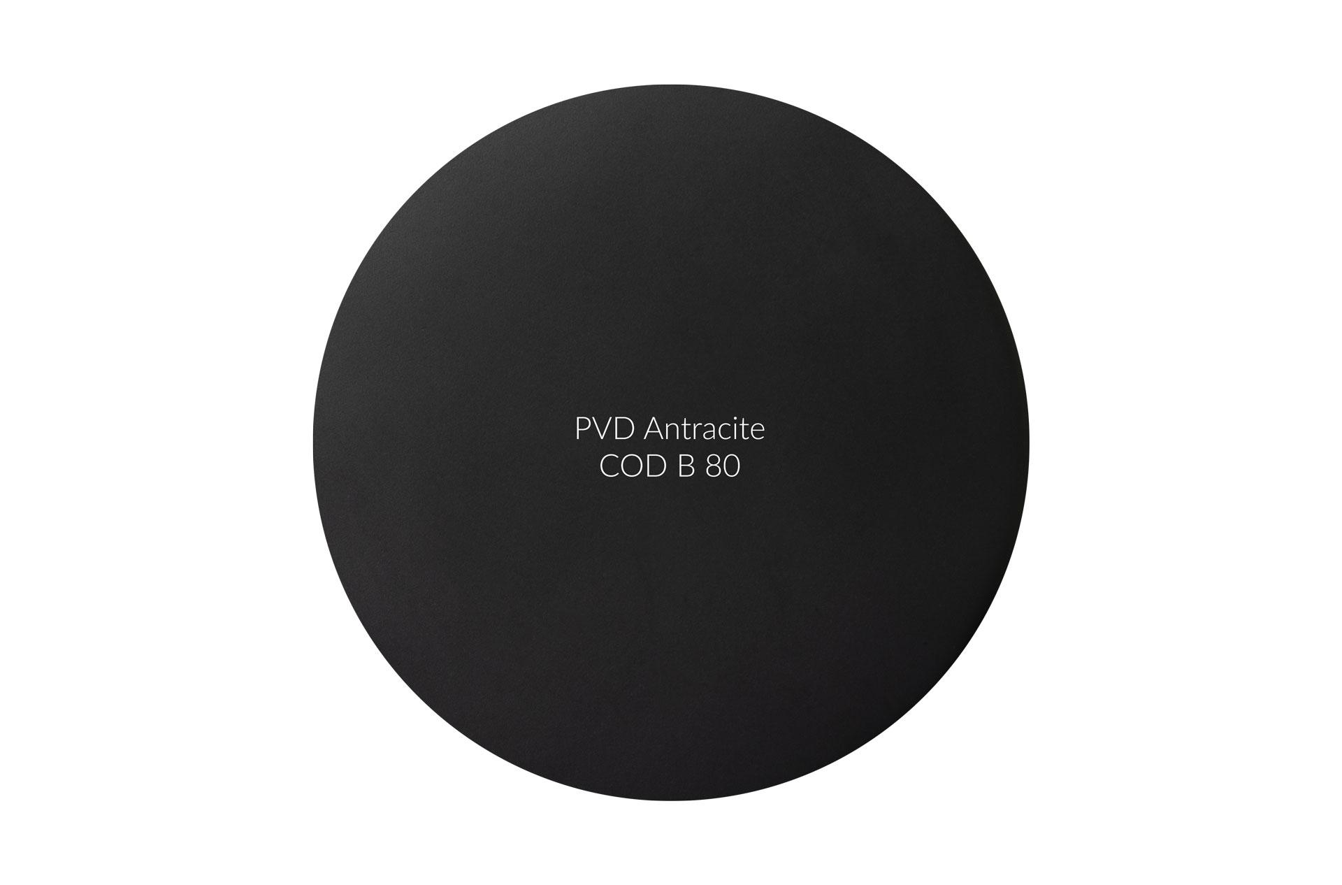 Dischetto PVD antracite cod B 80 opaco