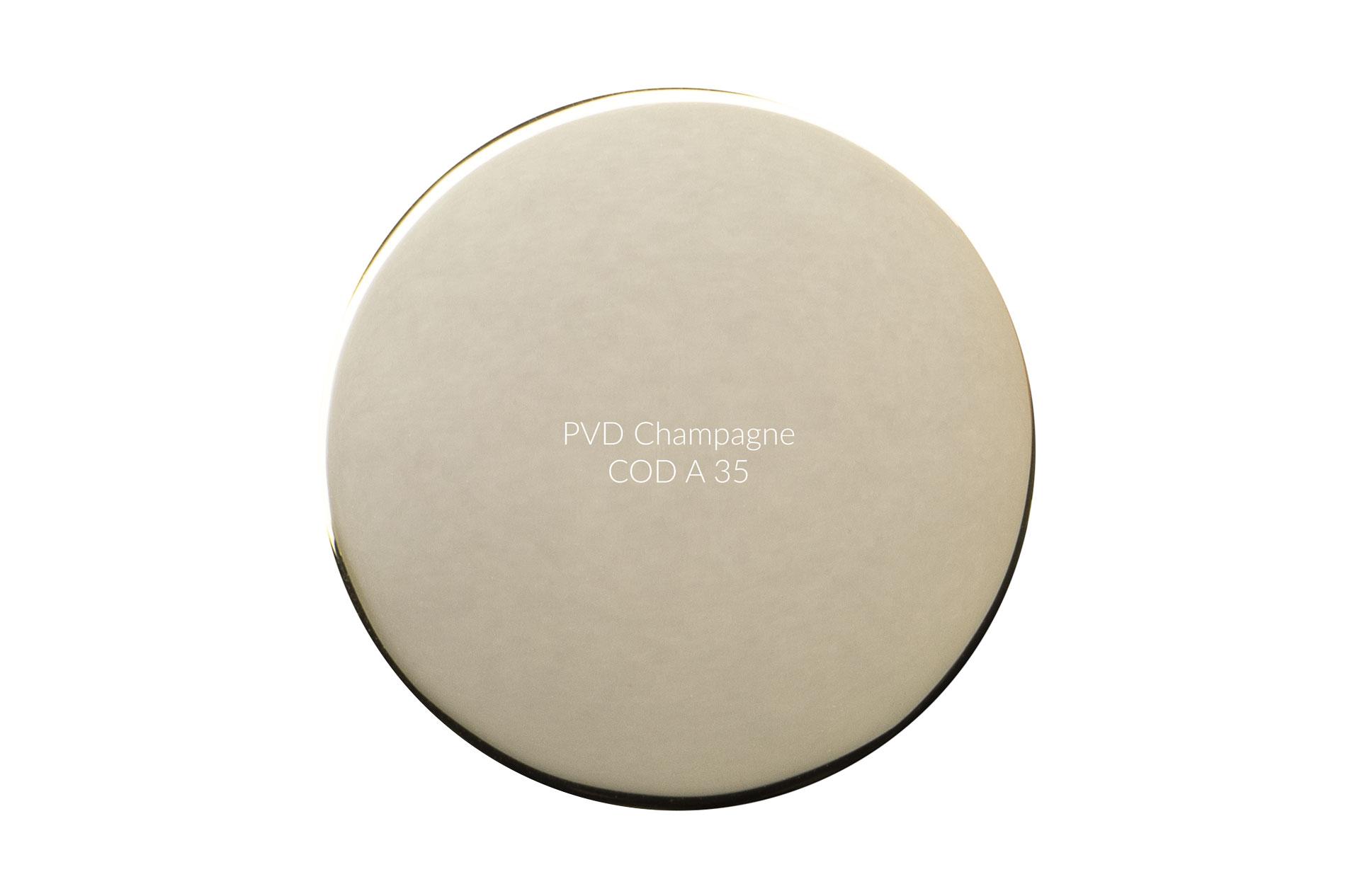 Dischetto PVD champagne cod A 35 lucido