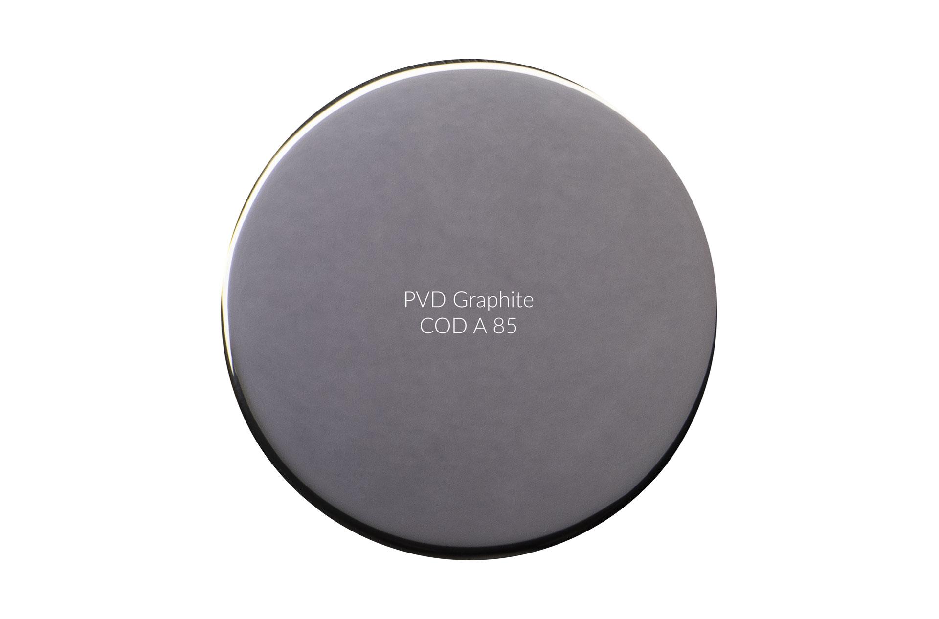 Dischetto PVD graphite cod A 85 lucido