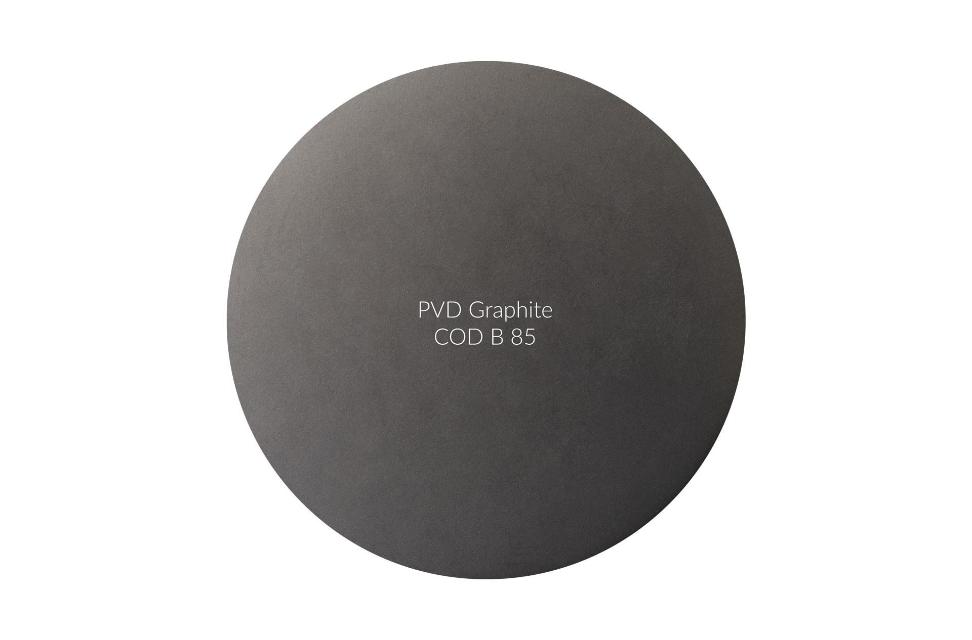 Dischetto PVD graphite cod B 85 opaco