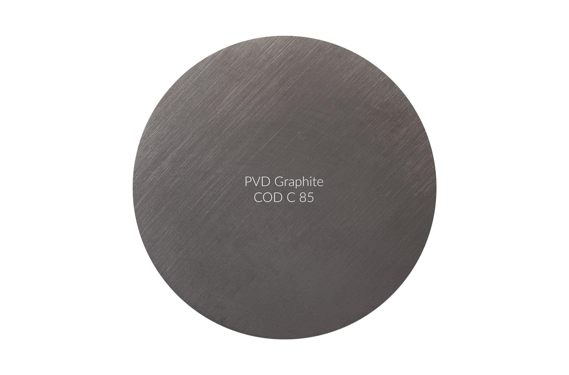 Dischetto PVD Graphite cod C 85 graffiato