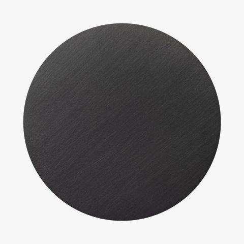 Dischetto Finitura PVD black 40 graffiato