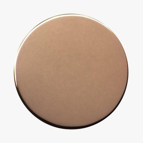 Dischetto Finitura PVD bronzo 75 lucido