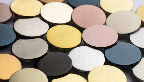 Dischetti per colore trattamento PVD