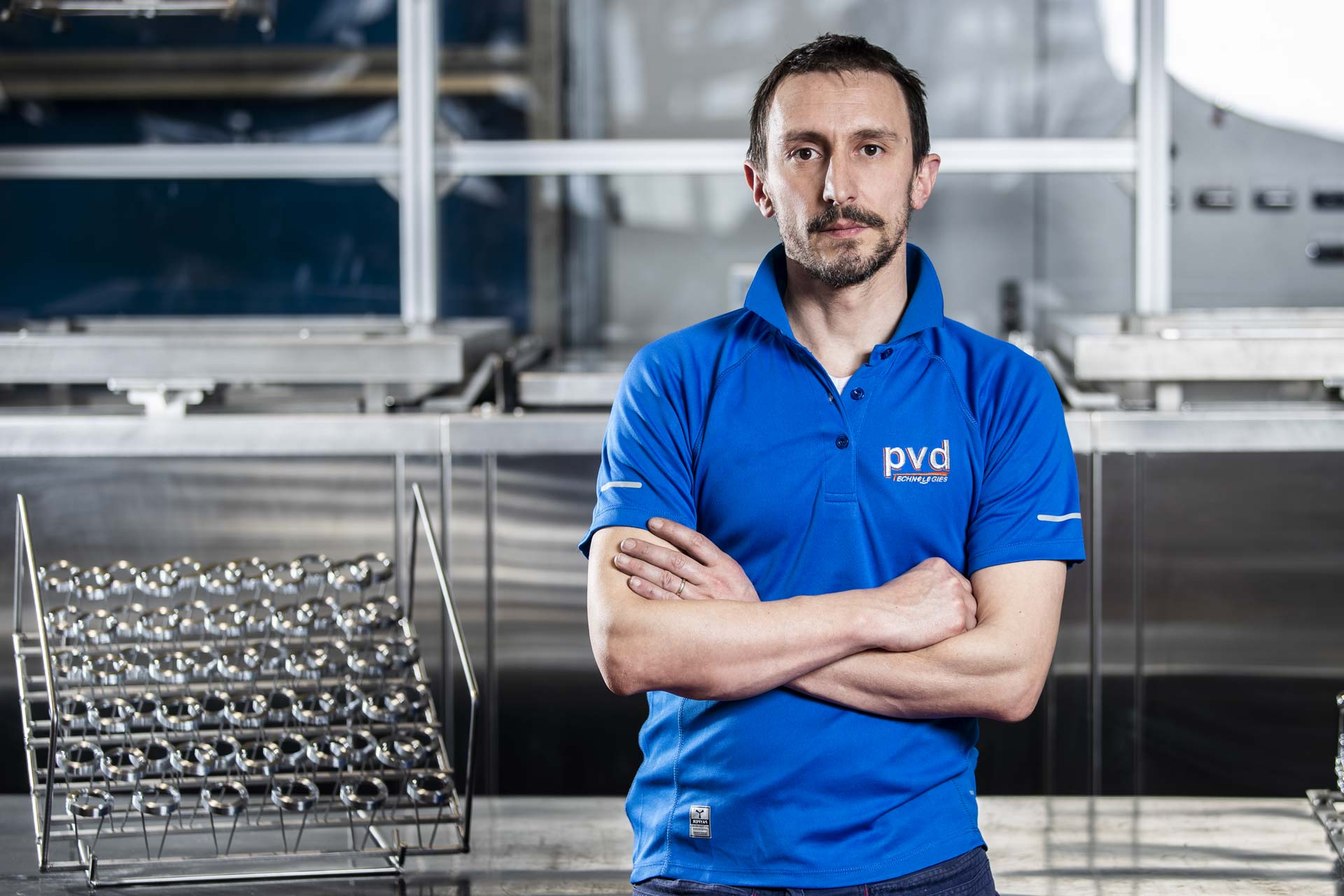 Alessandro Vidani titolare PVD Technologies a Casto (Brescia)