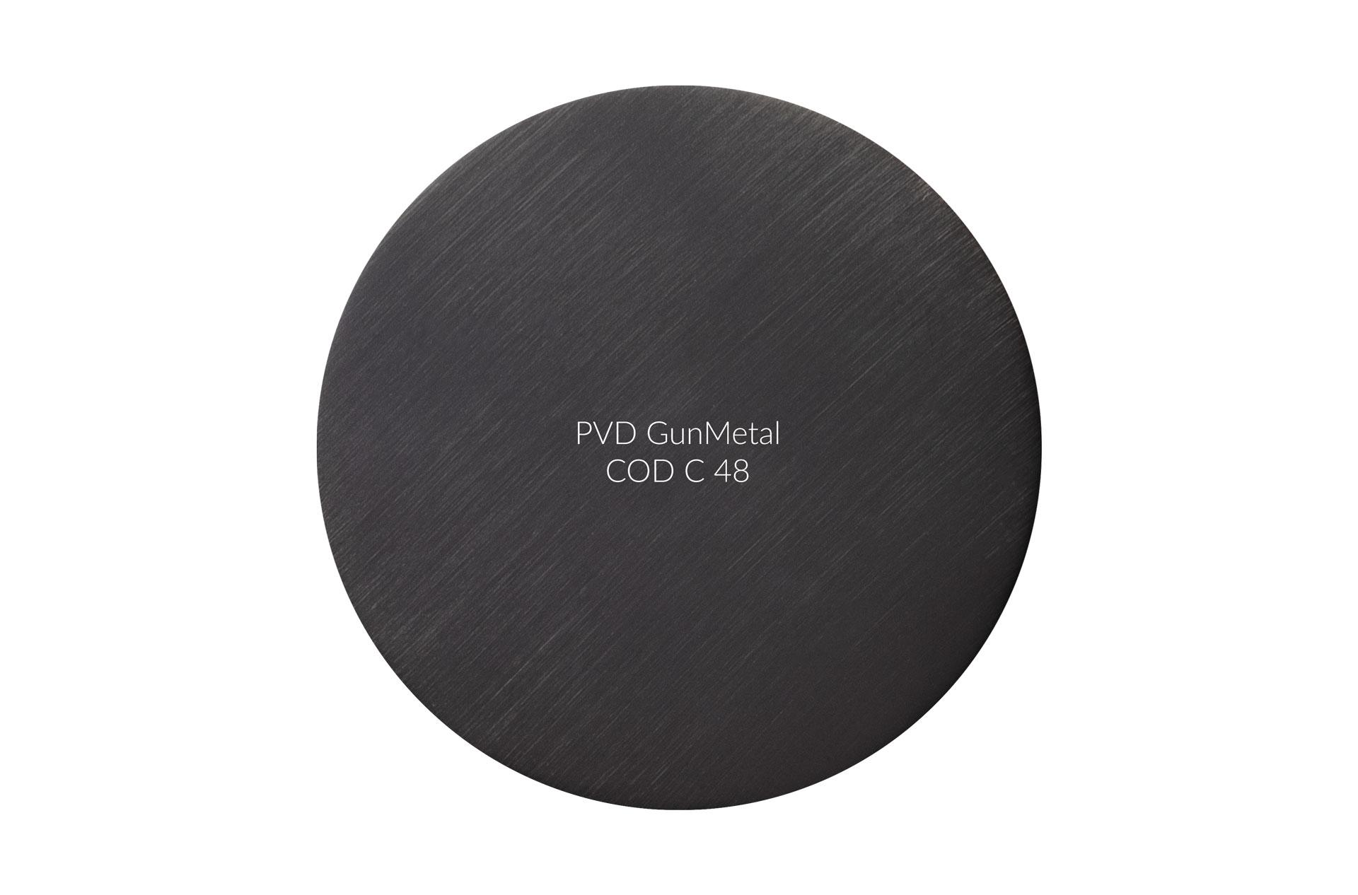 PVD GunMetal cod 48 graffiato