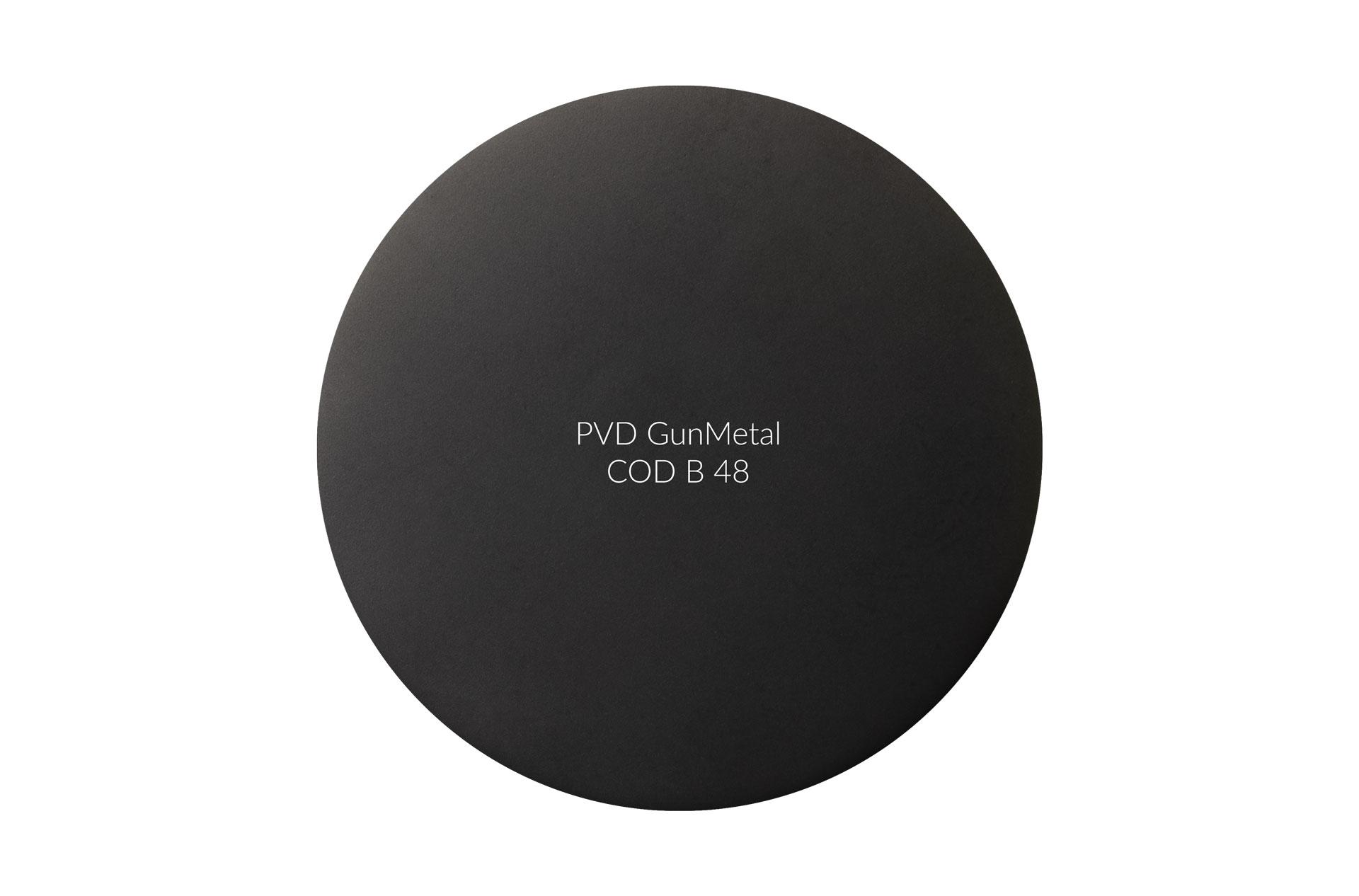 PVD GunMetal cod 48 opaco